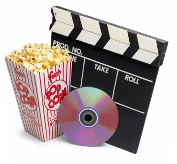 DVD popcorn